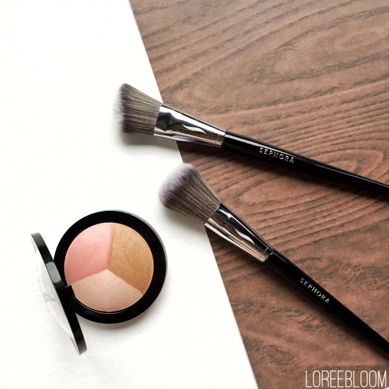 sephora, australia, luxola, makeup, brushes, makeup brushes, blushes, highlighter, bronzer, sephora brush 49, sephora brush 55