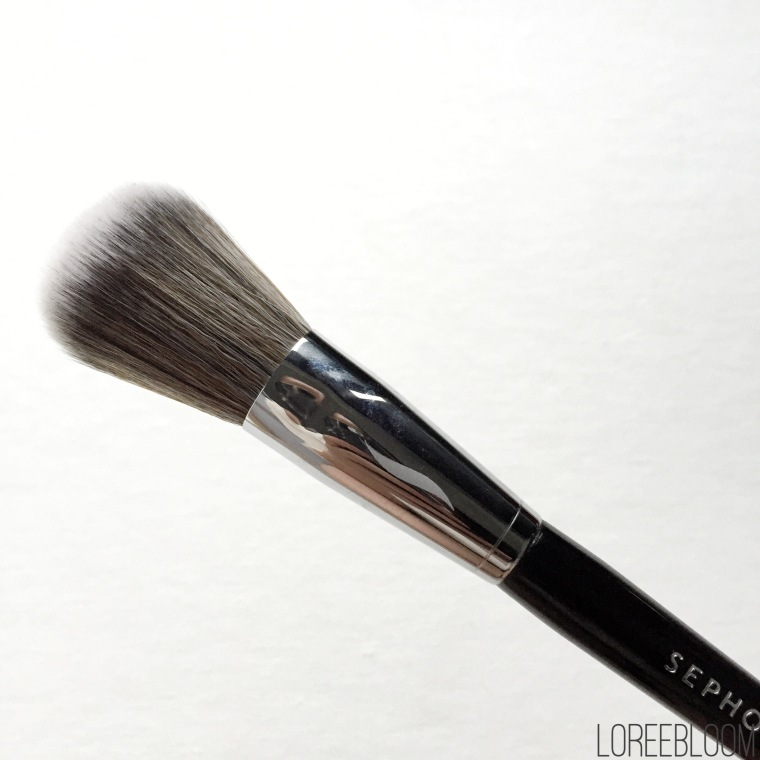 sephora, australia, luxola, makeup, brushes, makeup brushes, blushes, highlighter, bronzer, sephora brush 49, sephora brush 55, review, sephora.com.au
