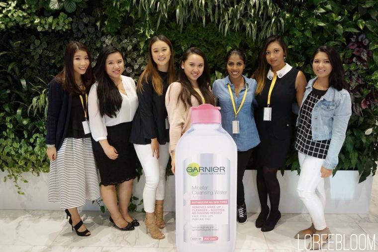 Garnier, Garnier Hair Care, Garnier Skincare, garnier micellar water, Micellar Water, Beauty Event, Melbourne Event, Melbourne