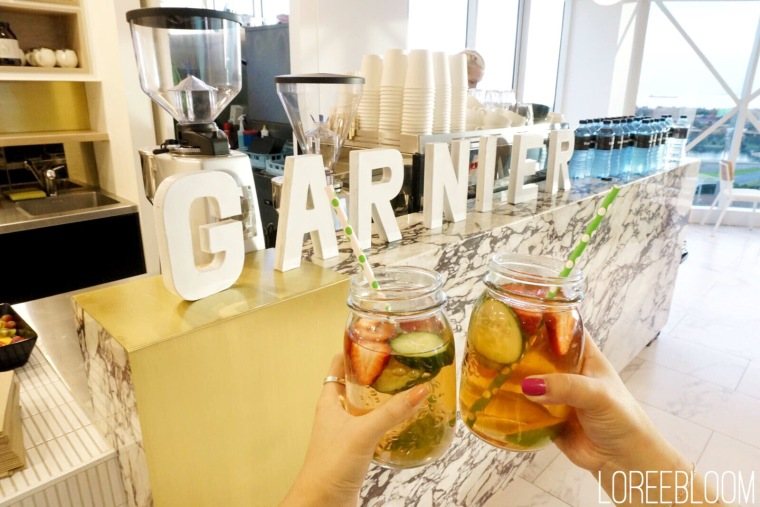 Garnier, Garnier Hair Care, Garnier Skincare, garnier micellar water, Micellar Water, Beauty Event, Melbourne Event, Melbourne, infused water, fresh, healthy water