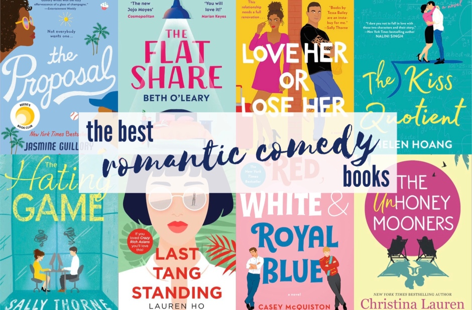 Love Her or Lose Her, The Proposal, The Flat Share, The Kiss Quotient, The Hating Game, Last Tang Standing, Red White Royal Blue, The Unhoneymooners, You Had Me At Hola, Well Met, Book recommendations, Book Review, Fun books, Jasmine Guillory, Beth O'Leary, Helen Hoang, Sally Thorne, Lauren Ho, Casey McQuiston, Christina Lauren, Jen Deluca, Alexis Daria, Tessa Bailey, Fun Romance, romcom, rom com books, rom-com books, contemporary romance, fiction books, chick lit, chick-lit, books, romance books, 2020, romantic comedy books, romantic comedy, book review, best romantic books, best romantic comedies, best romantic comedy book, fun books, light and fluffy books, fiction, erotica, smut, smut books, steamy, steamy books,